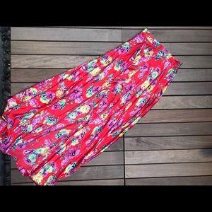 ASOS | Maxi Floral Skirt